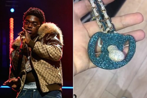 Kodak Black's new Diamond Pacifier worth $180,000 breaks the internet