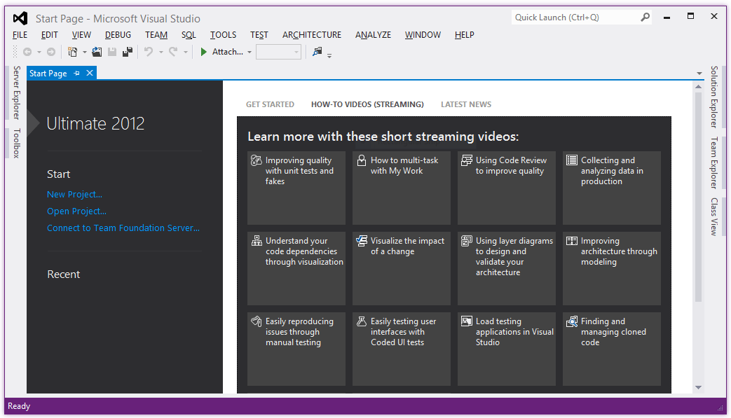 Visual Studio 2012 Download Free