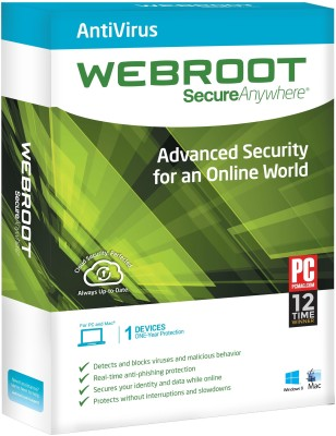 Webroot SecureAnywhere Antivirus Free Download