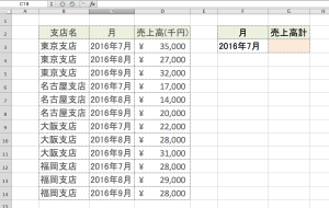 Excel SUMIF関数1