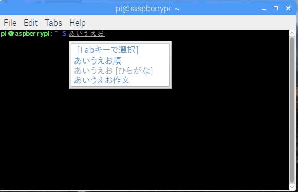 NOOBSでいれたRaspbianの日本語化