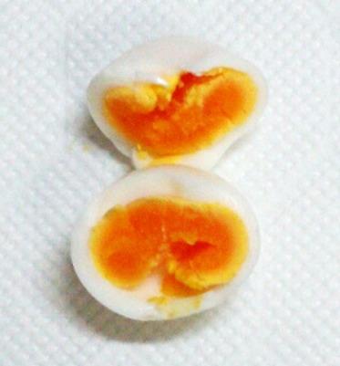 11分ゆで卵