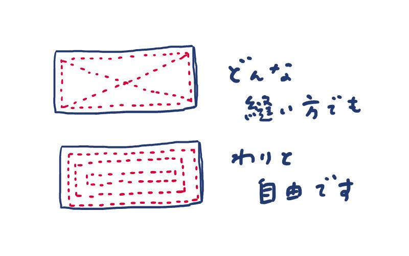 雑巾の作り方②