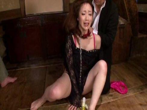 夫に調教され変態M女に変身した三十路熟女妻が乱暴におまんこを犯され悶絶してるひとずま動画cc