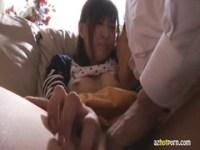 激カワ若妻が義父に潮噴きさせられてるひとずま動画