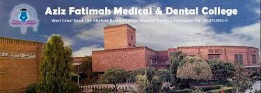 Aziz Fatima Nursing College Faisalabad Admission 2021
