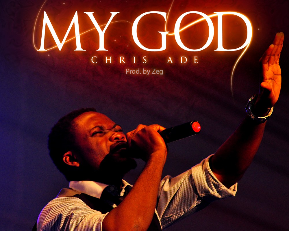 MY GOD album art by Chris Ade