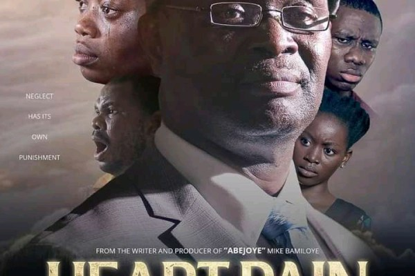 Heart Pain by Mike Bamiloye