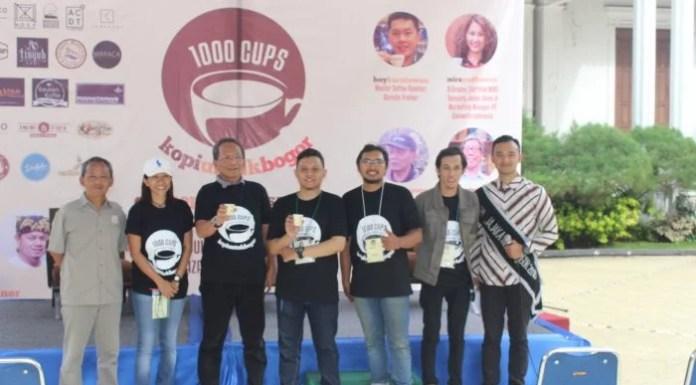 Event 1000 Cups Kopi Untuk Bogor 2016