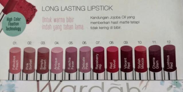 (Lipstik Wardah Long Lasting - ralali.com)