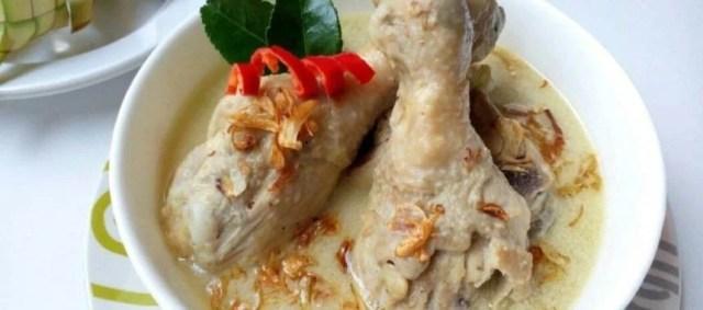 Resep Opor Ayam Putih. Image: resepkoki.id