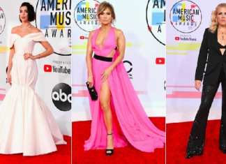 Best Dress AMA 2018. Image: Getty