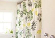 Cara membuat tirai shower dari kertas