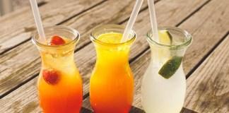 minuman buah segar