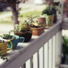 Забавна декорация на терасата