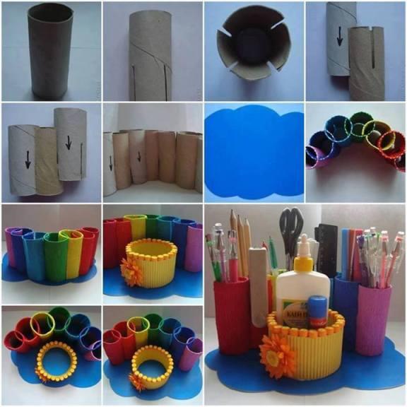 как да направим моливник