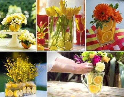 лимон за декорация