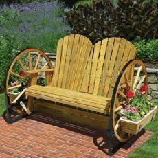 Пейка в етно стил за градината