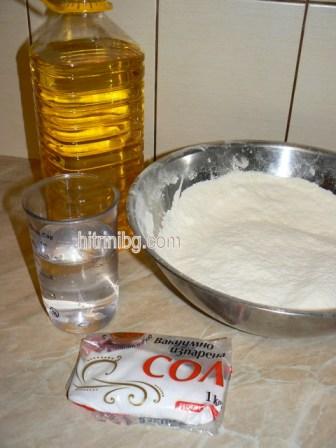 продукти за дърпана баница