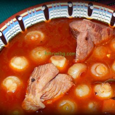Попска яхния със свинско месо