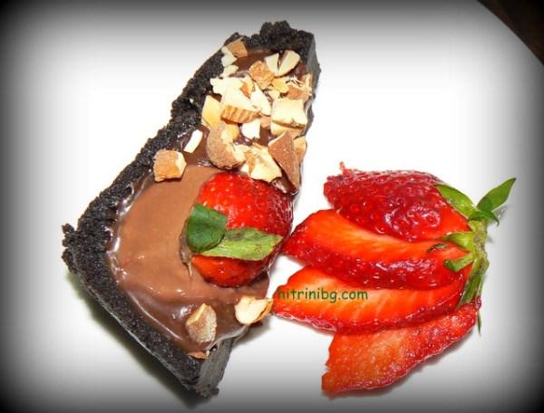 шоколадов тарт