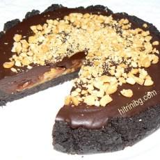 Шоколадов тарт с карамел