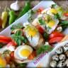 Хапки с пъдпъдъчи яйца