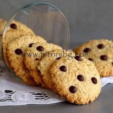 Бисквити с овесени ядки