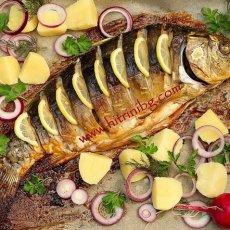 Рецепта за печен шаран на фурна