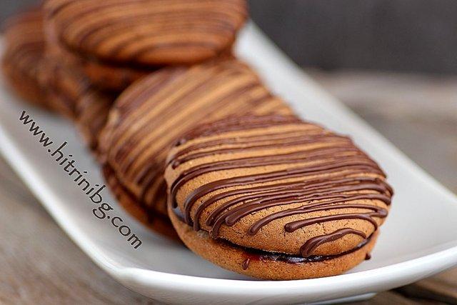 меденки с мармалад и шоколад