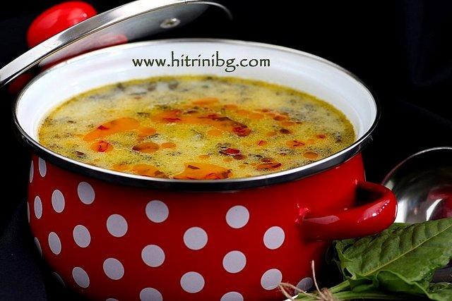 пролетна супа от киселец