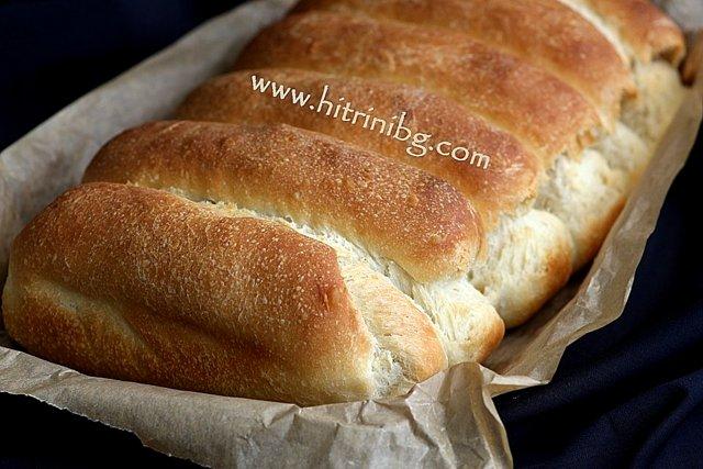 малки хлебчета като кифли