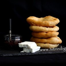 Домашни мекици от типово брашно