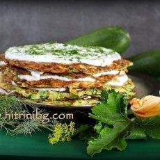 Палачинкова торта с тиквички