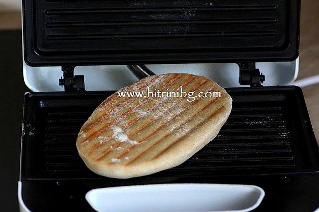пърленки на сандвич тостер