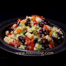 Киноа със зеленчуци - лесна рецепта