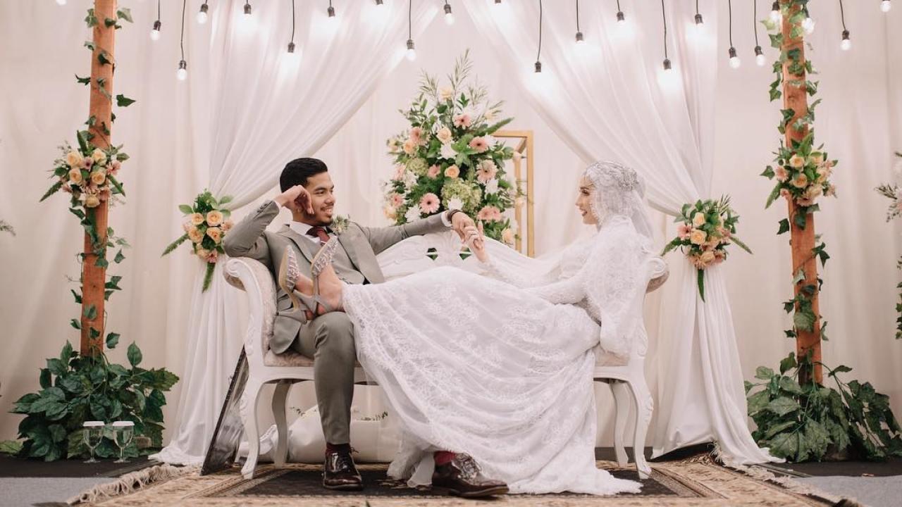 Mengintip Pernikahan Selebgram At Dwihandaanda Simpel Elegan