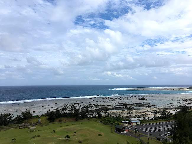 奄美あやまる岬の眺め