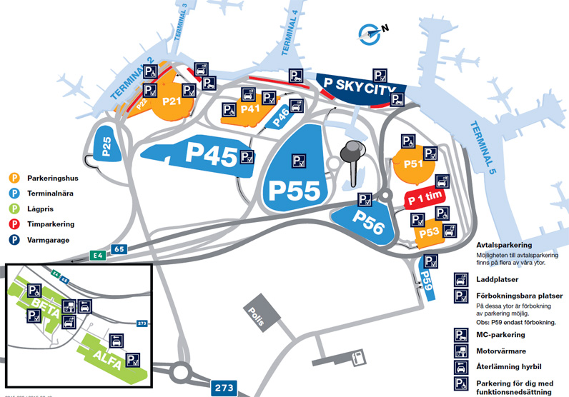 Gratis Parkering Arlanda