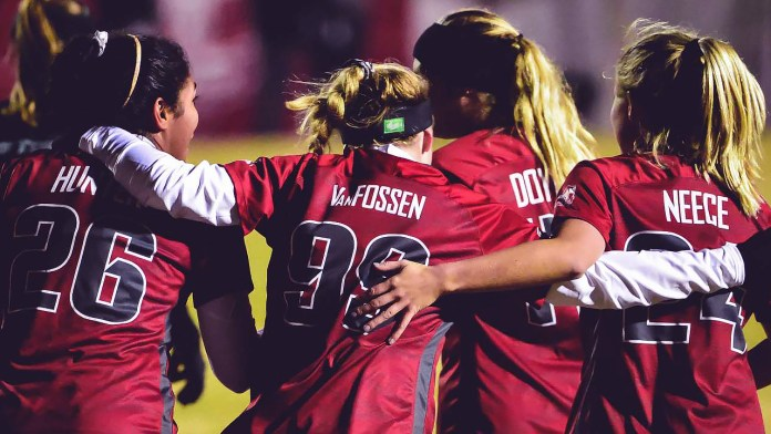 Razorbacks blank North Texas, 3-0, in first round of NCAA Tournament