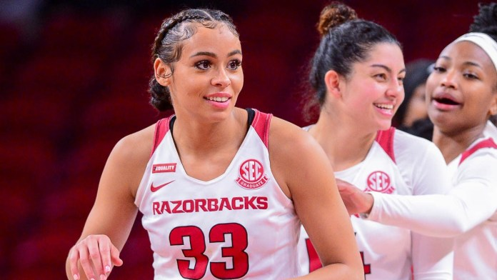 Slocum, Dungee lead Razorbacks to 86-80 win over Mississippi State