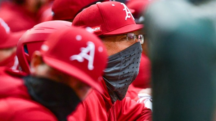Van Horn after Hogs come back to down Southeast Missouri in extra innings