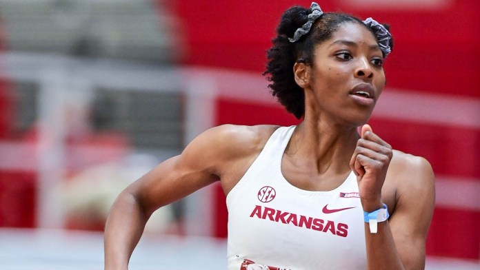 Hogs will take record 25 athletes to NCAA Indoor Championships