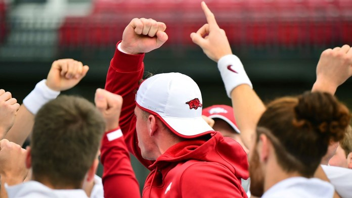 Hogs upset No. 12 Aggies for for first time since 2016