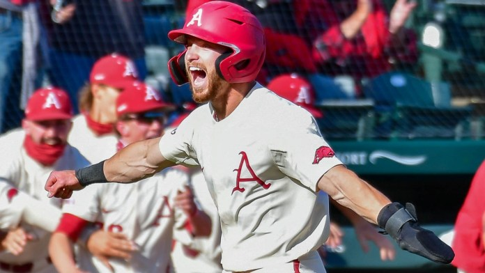 Another comeback by Hogs takes series with Tigers