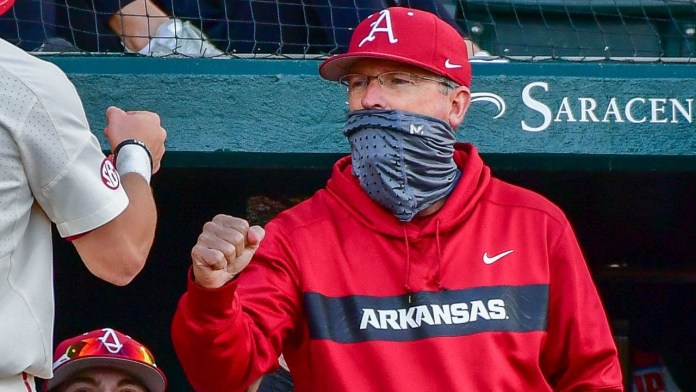 Van Horn on long period with no games, weekend series with LSU