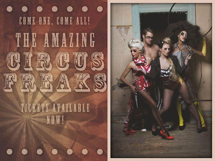 MODEL: Circus Freaks
