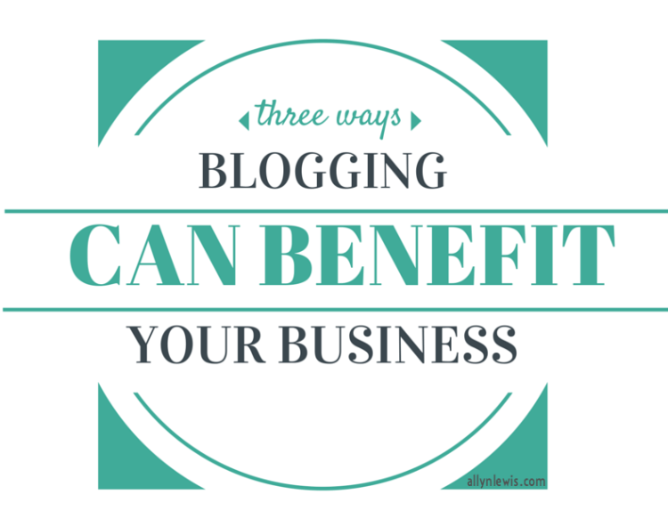 Benefits of Blogging as a Brand