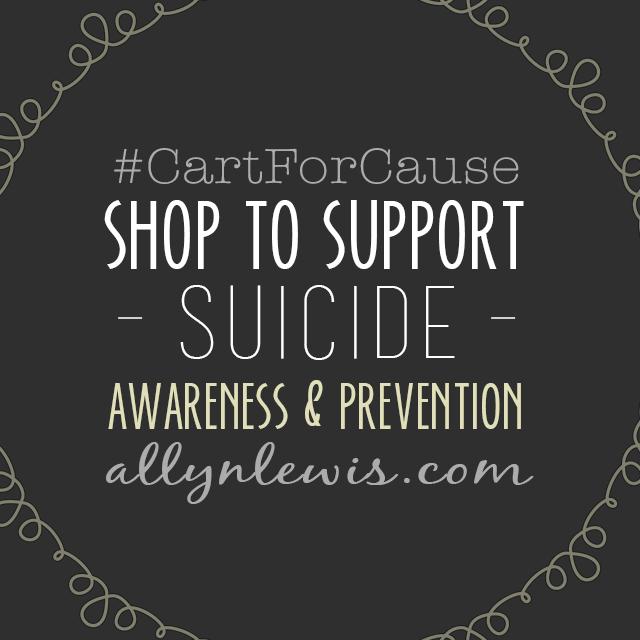 #CartForCause: Shine Bright for Suicide Awareness