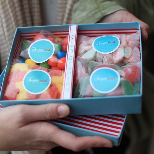 Candy delivered right to your door? I'm in!
